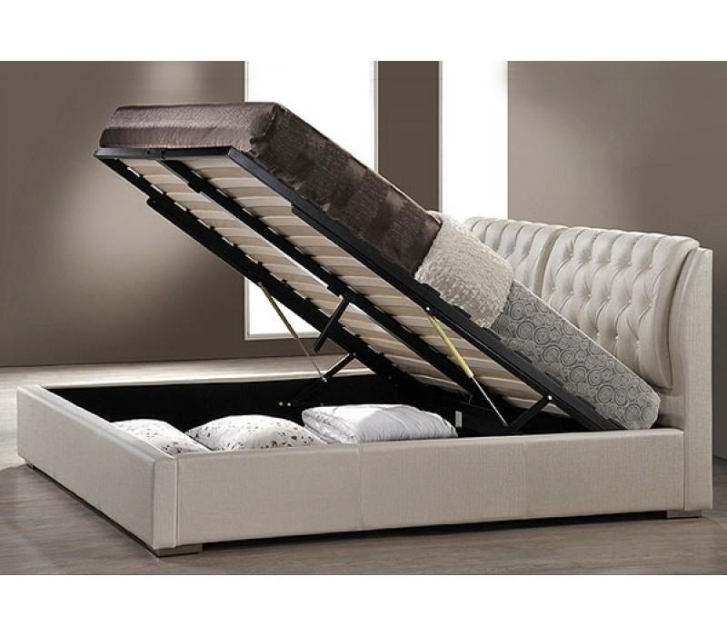 Кровать из экокожи  по акции